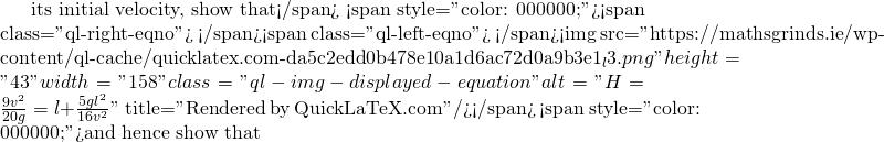 quicklatex.com-7906a3199f4e0c18b4599ba60e8ea583_l3 | Leaving Certificate Examination 1953 Honours Applied Mathematics | Maths Grinds